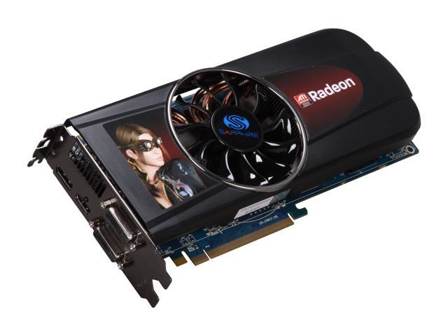 SAPPHIRE Radeon HD 5870 (Cypress XT) DirectX 11 100281-3SR 1GB 256-Bit DDR5 PCI Express 2.0 x16 HDCP Ready CrossFireX Support Video Card w/ Eyefinity