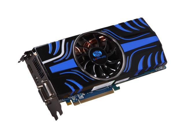 SAPPHIRE Toxic Radeon HD 5850 (Cypress Pro) DirectX 11 100282-2GTXSR 2GB 256-Bit GDDR5 PCI Express 2.0 x16 HDCP Ready CrossFireX Support Video Card