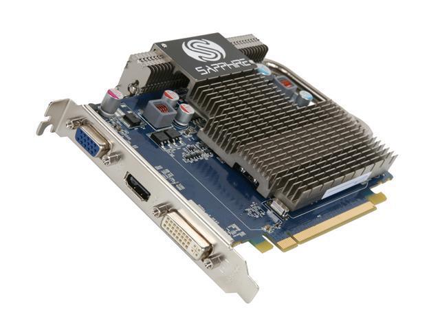 SAPPHIRE Ultimate Radeon HD 5550 DirectX 11 100294UL 1GB 128-Bit DDR2 PCI Express 2.0 x16 HDCP Ready Video Card
