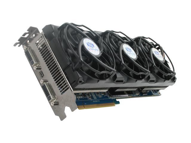 SAPPHIRE Radeon HD 5970 (Hemlock) DirectX 11 100280-4GBB 4GB 512 (256 x 2)-Bit GDDR5 PCI Express 2.0 x16 HDCP Ready CrossFireX Support Video Card w/ Eyefinity