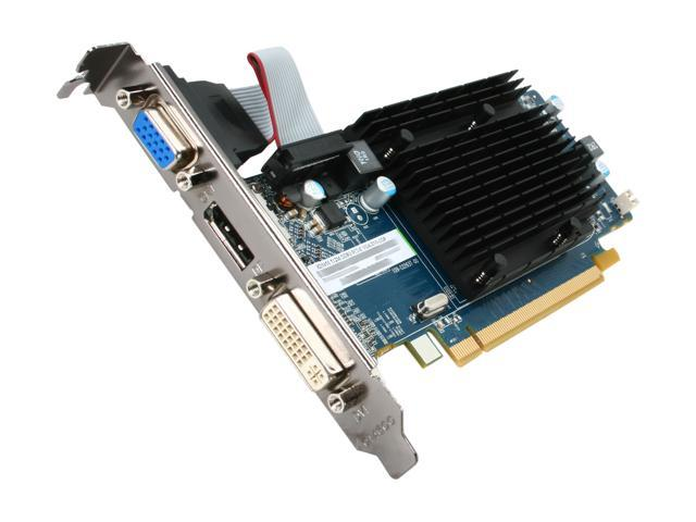 SAPPHIRE Radeon HD 5450 DirectX 11 100291DP 512MB 64-Bit DDR3 PCI Express 2.0 x16 Low Profile Video Card