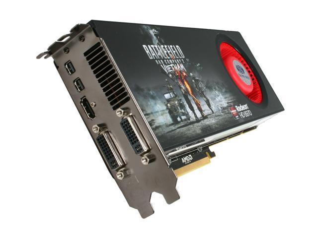 SAPPHIRE Radeon HD 6970 DirectX 11 100311BFVSR Video Card with Eyefinity