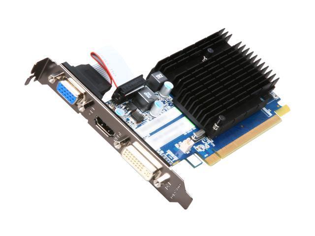 SAPPHIRE Radeon HD 5450 DirectX 11 100291DDR3L 512MB 64-Bit DDR3 PCI Express 2.1 x16 HDCP Ready Low Profile Ready Video Card