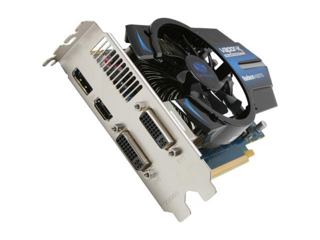 SAPPHIRE Vapor-X Radeon HD 6770 DirectX 11 100328VXL Video Card