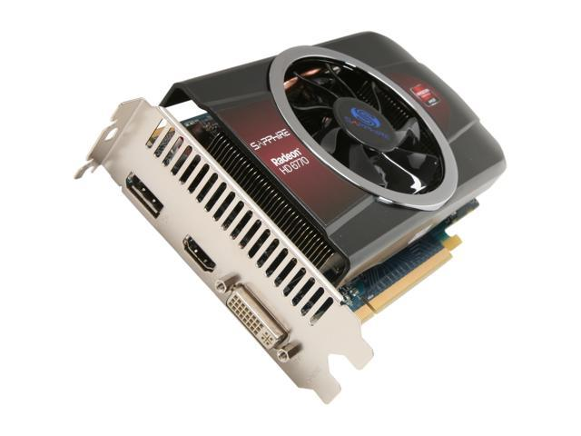 SAPPHIRE Radeon HD 6770 DirectX 11 100328L 1GB GDDR5 PCI Express 2.1 x16 HDCP Ready CrossFireX Support Video Card