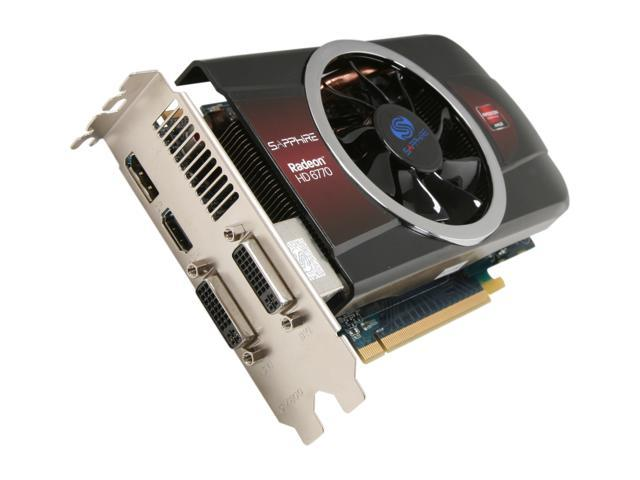 SAPPHIRE Radeon HD 6770 DirectX 11 100338L Video Card