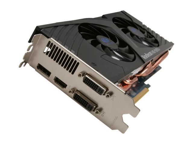 SAPPHIRE 100312-3SR Radeon HD 6950 Dirt3 Edition 2GB 256-bit GDDR5 PCI Express 2.1 x16 HDCP ...