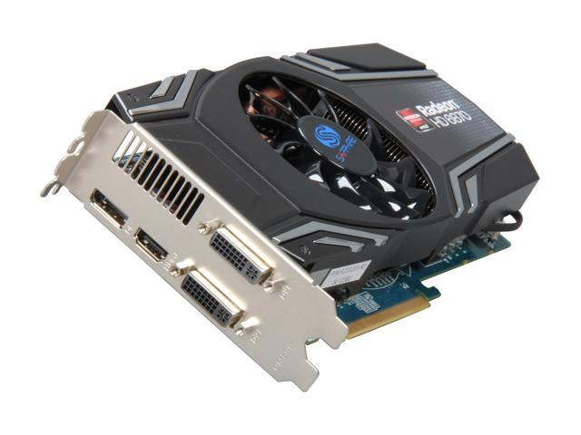 SAPPHIRE Radeon HD 6870 DirectX 11 100314-3L Video Card