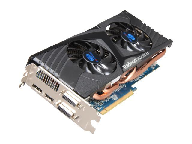 SAPPHIRE Radeon HD 6950 DirectX 11 100312-1GDP 1GB 256-Bit GDDR5 PCI Express 2.1 x16 HDCP Ready CrossFireX Support Video Card with Eyefinity