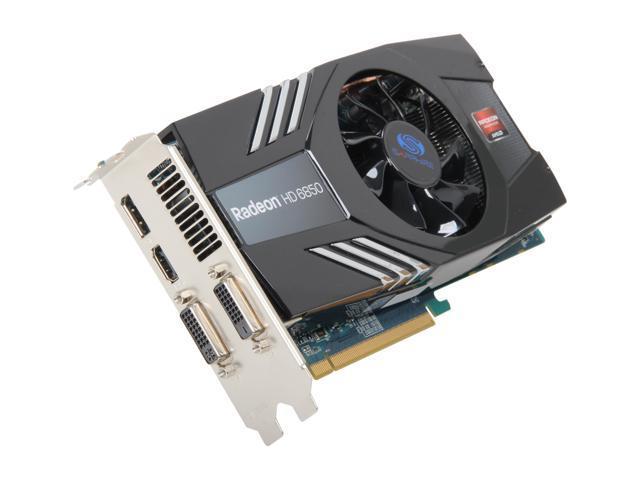 SAPPHIRERadeon HD 6850 2GB 256-bit GDDR5 PCI Express 2.1 x16 HDCP Ready CrossFireX Support Video Card  ( 100315-2GL )