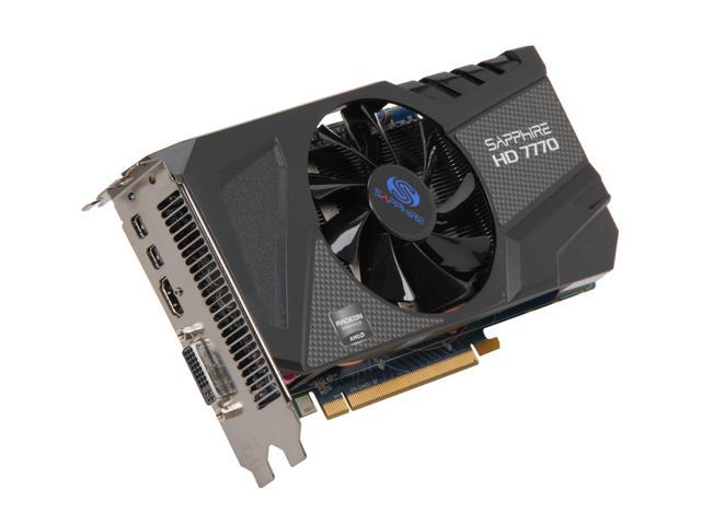 SAPPHIRE Radeon HD 7770 DirectX 11 11201-02-20G Video Card