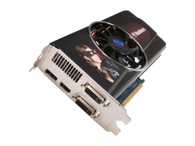 SAPPHIRE Radeon HD 5830 DirectX 11 11169-00 1GB GDDR5 PCI Express 2.1 x16 Video Card