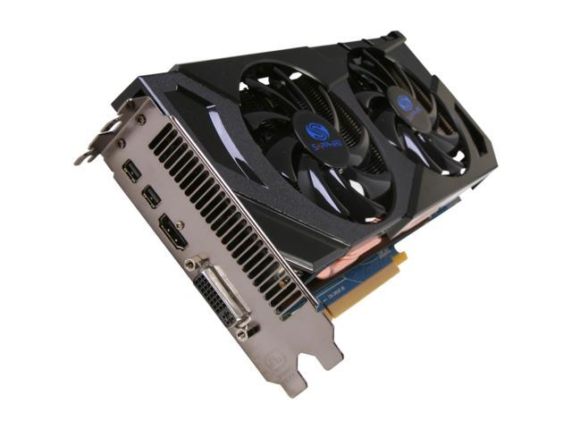 SAPPHIRE Radeon HD 7870 GHz Edition DirectX 11 11199-00-20G Video Card