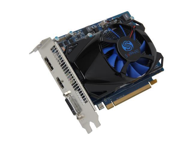 SAPPHIRE  Radeon HD 7750 1GB 128-bit GDDR5 PCI Express 3.0 x16 HDCP Ready  Video Card (11202-05-20G)