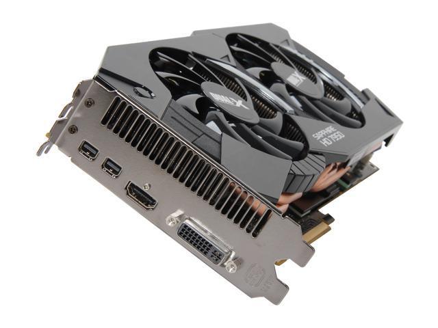 SAPPHIRE HD 7000 Radeon HD 7950 DirectX 11 100352OCSR 3GB 384-Bit GDDR5 PCI Express 3.0 x16 HDCP Ready CrossFireX Support Plug-in Card Video Card