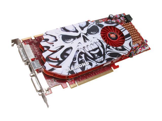 DIAMOND Radeon HD 4850 DirectX 10.1 4850PE3512 512MB 256-Bit GDDR3 PCI Express 2.0 x16 HDCP Ready CrossFireX Support Video Card