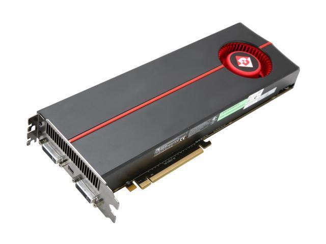 DIAMOND Radeon HD 5970 (Hemlock) DirectX 11 5970PE52G 2GB 512 (256 x 2)-Bit GDDR5 PCI Express 2.1 x16 HDCP Ready CrossFireX Support Dual GPU Onboard CrossFire Video Card w/ Eyefinity