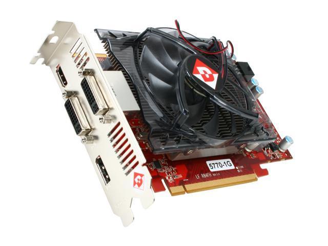 DIAMOND Radeon HD 5770 DirectX 11 5770PE51GT 1GB 128-Bit GDDR5 PCI Express 2.0 x16 CrossFireX Support Video Card