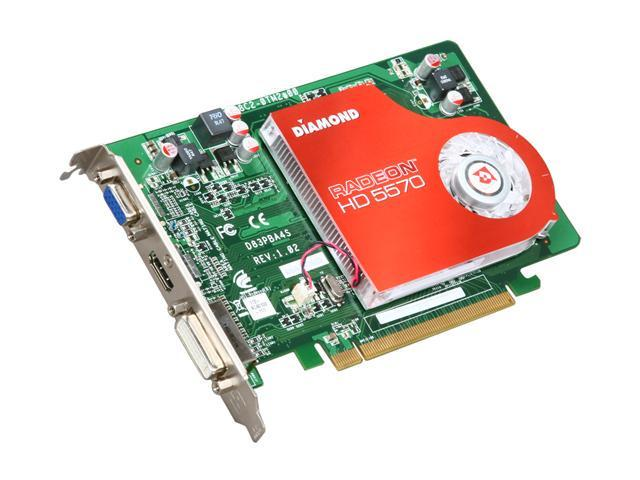 DIAMOND Radeon HD 5570 DirectX 11 5570PE31G Video Card