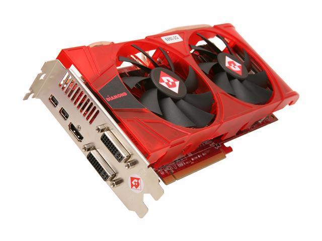 DIAMOND Radeon HD 6950 DirectX 11 6950PE52G Video Card with Eyefinity