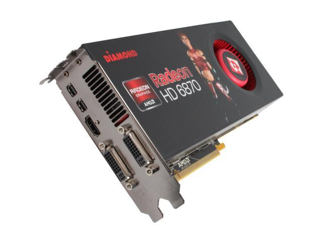 DIAMOND Radeon HD 6870 DirectX 11 6870PE51GB Video Card