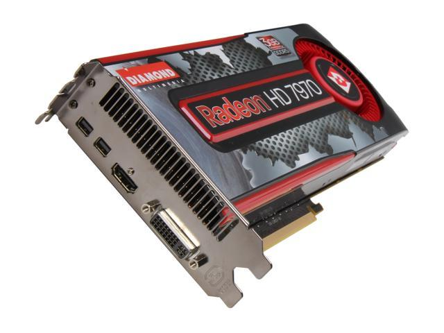 DIAMOND HD 7000 Radeon HD 7970 DirectX 11 7970PE53G 3GB 384-Bit GDDR5 PCI Express 3.0 x16 HDCP Ready CrossFireX Support Plug-in Card Video Card