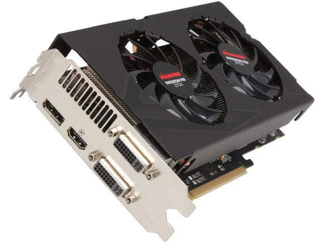 DIAMOND Radeon R9 270X DirectX 11.2 R9270XD52GXOC Video Card