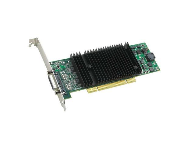 Matrox P69-MDDE256LAUF 256MB PCI Express x16 Low Profile Workstation Video Card