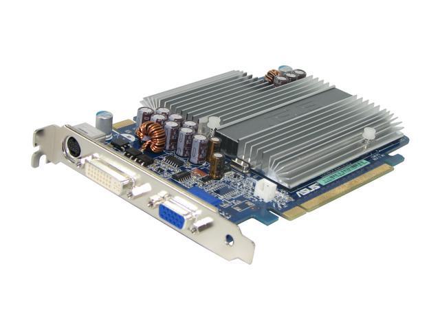 ASUS GeForce 7600GS DirectX 9 EN7600GS SILENT/HTD/256M Video Card