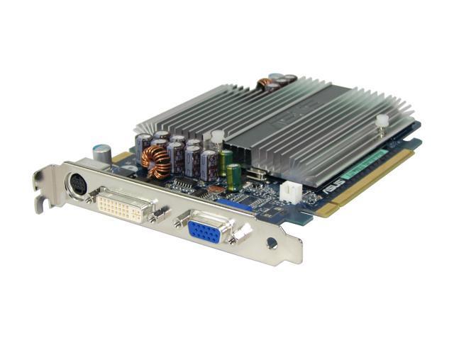 ASUS GeForce 7300GT DirectX 9 EN7300GT SILENT/HTD/256M Video Card