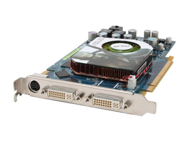 ASUS GeForce 7900GS DirectX 9 EN7900GS/2DHT/256M 256MB 256-Bit GDDR3 PCI Express x16 SLI Support Video Card