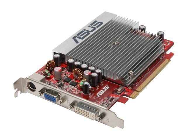 ASUS HD 2000 Radeon HD 2400PRO DirectX 10 EAH2400PRO/HTP/256M 256MB 64-Bit GDDR2 PCI Express x16 HDCP Ready Video Card