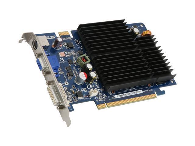 ASUS GeForce 8500 GT DirectX 10 EN8500GT SILENT MAGIC/HTP/512M Video Card