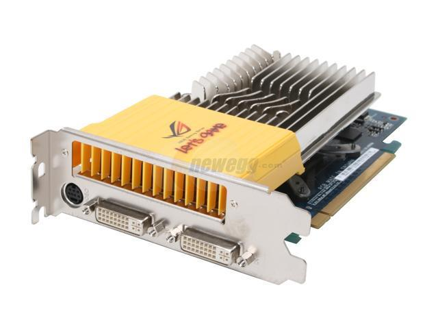 ASUS GeForce 8600 GT DirectX 10 EN8600GT SILENT/HTDP/512M Super Silent Video Card