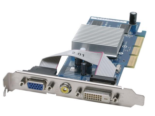 ASUS GeForce MX4000 DirectX 8 V9400-X/TD/128 Low Profile Video Card