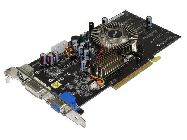 ASUS 6 GeForce 6600 DirectX 9 N6600/TD/256 256MB 128-Bit DDR AGP 4X/8X Video Card