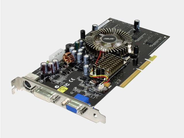 ASUS 6 GeForce 6600 DirectX 9 N6600/TD/128 128MB 128-Bit DDR AGP 4X/8X Video Card