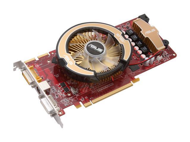 ASUS Radeon HD 3870 DirectX 10.1 EAH3870/G/HTDI/512M Video Card