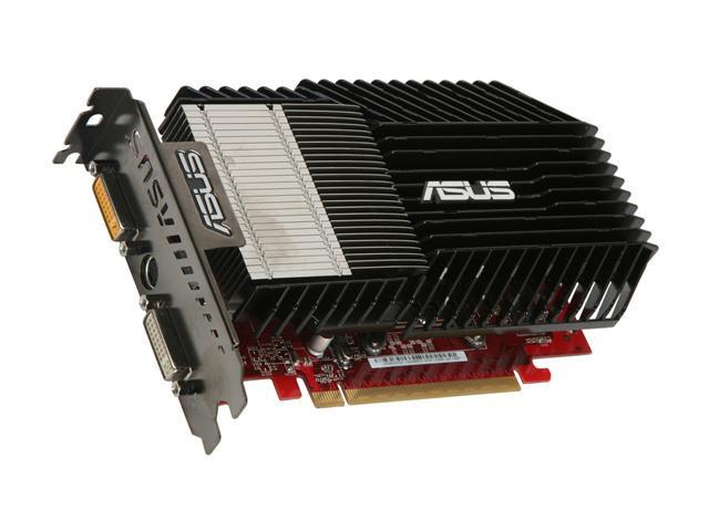 ASUS Radeon HD 3650 DirectX 10.1 EAH3650 SILENT/HTDI/512M 512MB 128-Bit GDDR3 PCI Express 2.0 x16 HDCP Ready CrossFireX Support Video Card