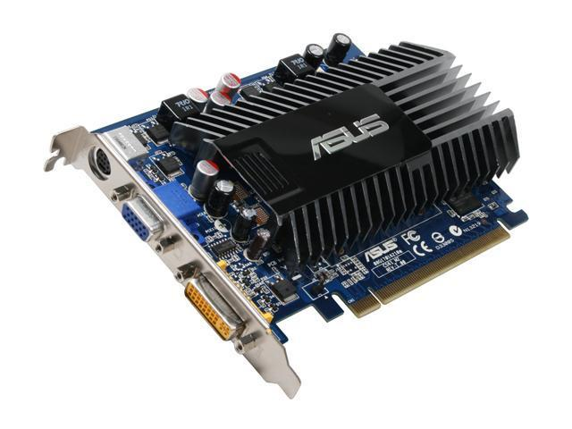 ASUS GeForce 8400 GS DirectX 10 EN8400GS SILENT/HTP/512M Video Card