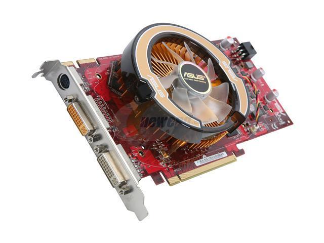 ASUS Radeon HD 4850 DirectX 10.1 EAH4850/HTDI/512M Video Card