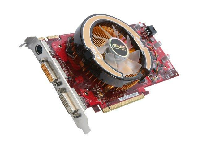ASUS HD 4000 Radeon HD 4850 DirectX 10.1 EAH4850/HTDI/512M 512MB 256-Bit GDDR3 PCI Express 2.0 x16 HDCP Ready CrossFireX Support Video Card