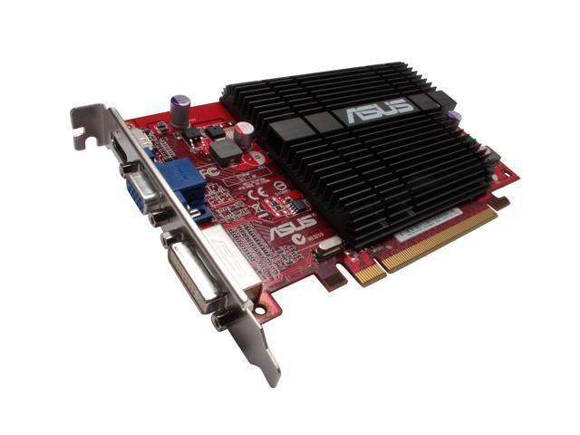 ASUS Radeon HD 4350 DirectX 10.1 EAH4350 SILENT/DI/512MD2 512MB 64-Bit GDDR2 PCI Express 2.0 x16 HDCP Ready Video Card
