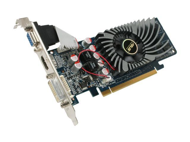 ASUS GeForce 9400 GT DirectX 10 EN9400GT/DI/512M(LP) Video Card