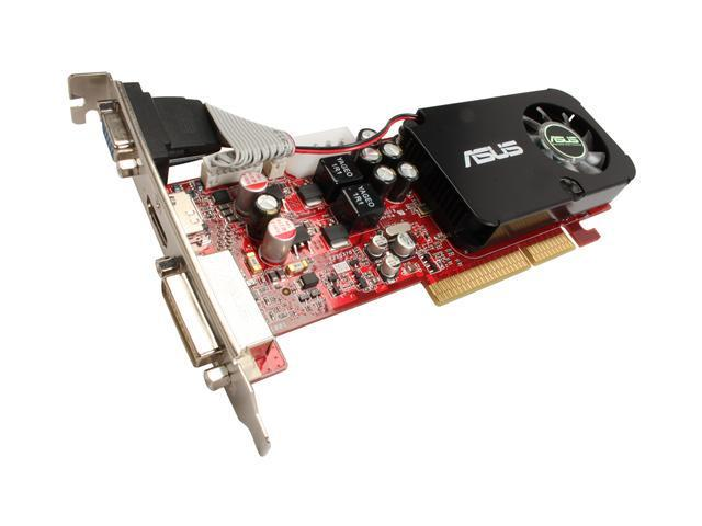 ASUS Radeon HD 3450 DirectX 10.1 AH3450/DI/512MD2(LP) Video Card