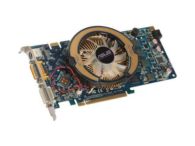 ASUS GeForce 9600 GSO DirectX 10 EN9600GSO/HTDP/384M Video Card