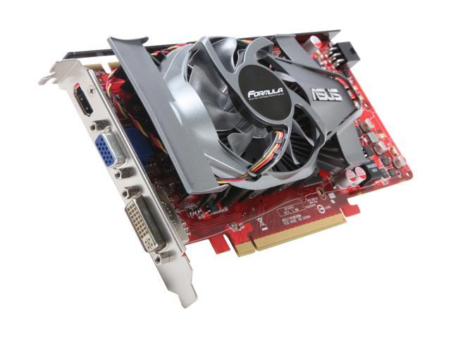 ASUS Radeon HD 4770 DirectX 10.1 EAH4770 FORMULA/DI/512MD5 Video Card
