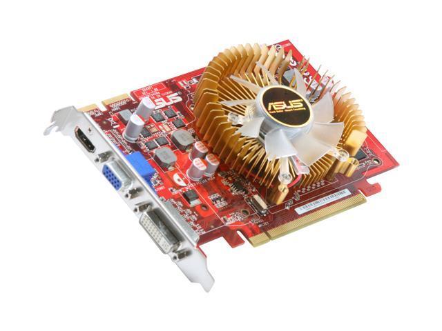 ASUS Radeon HD 4670 DirectX 10.1 EAH4670/DI/1GD3/V2 1GB 128-Bit DDR3 PCI Express 2.0 x16 HDCP Ready CrossFireX Support Video Card