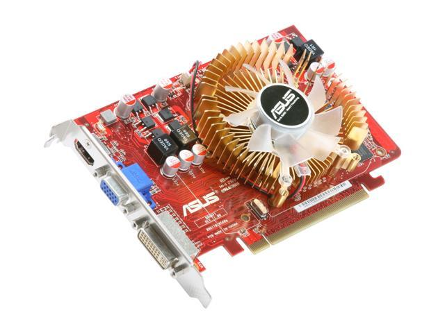 ASUS HD 4000 Radeon HD 4670 DirectX 10.1 EAH4670/DI/512MD3 512MB 128-Bit DDR3 PCI Express 2.0 x16 HDCP Ready Video Card