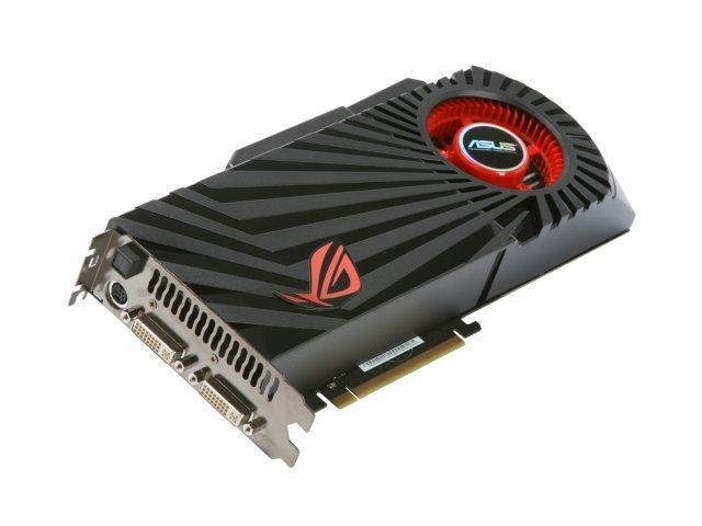 ASUS GeForce GTX 285 DirectX 10 MATRIX GTX285/HTDI/1GD3 1GB 512-Bit DDR3 PCI Express 2.0 x16 HDCP Ready SLI Support Video Card